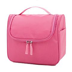 حقيبة السفر حقيبة أدوات تجميل للسفر منظم أغراض السفر حقيبة أدوات تجميل تخزين السفر سعة كبيرة إلى ملابس البوليستر / السفر