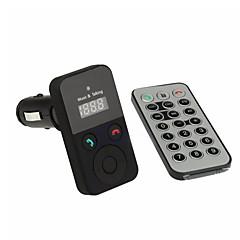 set auto handsfree Bluetooth FM transmițător fără fir USB SD transmetteur Bluetooth voiture mp3 microfon cu telecomanda