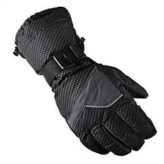 Rękawice narciarskie Męskie Damskie Keep Warm Wodoodporny Wiatroodporna Anatomiczny kształt Oddychający Nylon Bawełna Narciarstwo