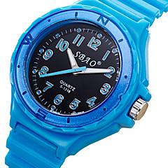 お買い得  メンズ腕時計-男性用 リストウォッチ クール / / Plastic バンド カジュアル ブルー / パープル