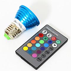 preiswerte LED-Birnen-YouOKLight 3W 200-250lm E26 / E27 LED Spot Lampen MR16 1 LED-Perlen Hochleistungs - LED Dekorativ RGB 85-265V