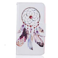 voordelige Hoesjes / covers voor LG-hoesje Voor LG K8 LG LG K10 LG K7 Kaarthouder Portemonnee met standaard Patroon Volledig hoesje Dromenvanger Hard PU-nahka voor