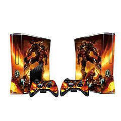 preiswerte Xbox 360 Skin Aufkleber-B-SKIN USB Aufkleber Für Xbox 360 . Aufkleber Vinyl 1 pcs Einheit