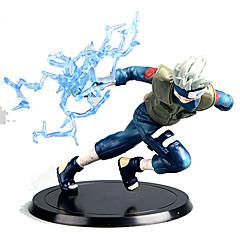 Anime de acțiune Figurile Inspirat de Naruto Hatake Kakashi Anime Accesorii Cosplay figura Albastru PVC