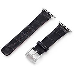 Karóra Alma-Watch sorozat 1 2 38mm 42mm klasszikus csattal valódi bőr csere csík