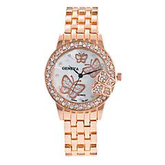 preiswerte Damenuhren-Damen Armbanduhr Großes Ziffernblatt / Punk / Cool Legierung Band Charme / Glanz / Retro Silber / Gold / Rotgold