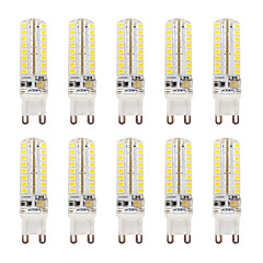 abordables Bombillas LED-G9 Luces LED de Doble Pin T 64 SMD 2835 320-340 lm Blanco Cálido Blanco Fresco Warm White/Cool White K Impermeable Regulable V