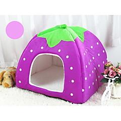 Γάτα Σκύλος Κρεβάτια Κατοικίδια Καλάθια Φρούτα Moale Βυσσινί Καφέ Κόκκινο Μπλε Ροζ