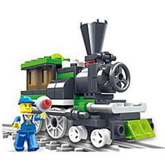 أحجار البناء لعبة سيارات قطار ألعاب Train صبيان قطع