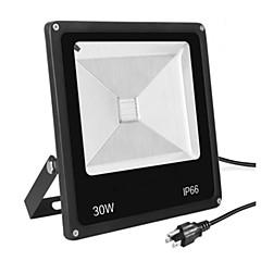 Χαμηλού Κόστους Φωτιστικά εξωτερικού χώρου-LED Προβολείς Φορητά Εύκολη Εγκατάσταση Αδιάβροχη Διακοσμητικό Εξωτερικός Φωτισμός Θερμό Λευκό Ψυχρό Λευκό AC 85-265V