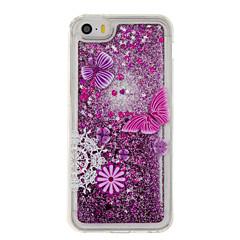 Для Движущаяся жидкость / С узором Кейс для Задняя крышка Кейс для Бабочка Мягкий TPU для AppleiPhone 7 Plus / iPhone 7 / iPhone 6s