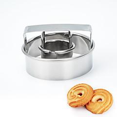 billige Bageredskaber og gadgets-kan femtende skimmelblomst til cookie metal / fødselsdag / nytår / diy