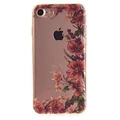 Недорогие Кейсы для iPhone-Кейс для Назначение Apple iPhone 7 / iPhone 6 IMD Кейс на заднюю панель Цветы Мягкий ТПУ для iPhone 7 / iPhone 6s / iPhone 6