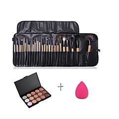 15 Concealer/ContourPoederdons/Cosmeticaspons / Make-up borstels Nat Gezicht / nek / OthersBedekking / Concealer / Oneffen huidtint /