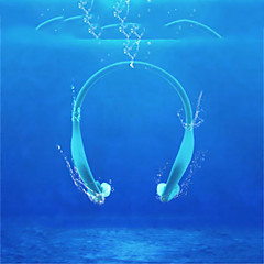abordables Auriculares (Cuello)-LC-702 Cascos (de cuello) Auriculares Electromagnético El plastico Auricular Auriculares