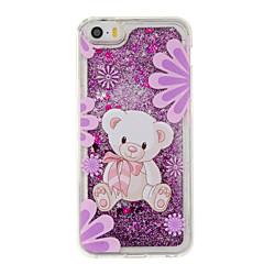 Для Движущаяся жидкость / С узором Кейс для Задняя крышка Кейс для Животный принт Мягкий TPU для AppleiPhone 7 Plus / iPhone 7 / iPhone