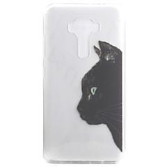 Voor Doorzichtig / Patroon hoesje Achterkantje hoesje Kat Zacht TPU voor Asus Asus ZenFone 3 (ZE552KL)(5.5) / Asus Zenfone 3 ZE520KL (5.2)