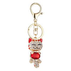 noul set ornament Melcul Plutus pisica pandantiv minunat se confruntă cu pisica pandantiv masina cheie lanț de sac zâmbitor