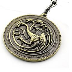 Mai multe accesorii Inspirat de Game of Thrones Cosplay Anime Accesorii Cosplay breloc Auriu / Argintiu Aliaj