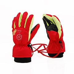 Rękawiczki zimowe Rękawice narciarskie DZIECIĘCE Full Finger Keep Warm Oddychający Nylon Bawełna Narciarstwo Sport i rekreacja Spadać Zima
