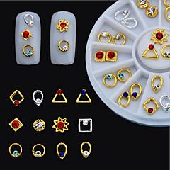 voordelige -1 Nail Art Decoration Rhinestone Pearls make-up Cosmetische Nail Art Design
