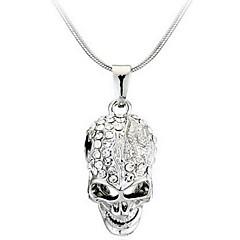 Недорогие Ожерелья-Муж. Жен. Ожерелья с подвесками - Сплав На заказ Мода Череп Ожерелье Назначение Повседневные