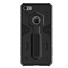 Недорогие Кейсы для iPhone 6 Plus-Кейс для Назначение Apple iPhone 6 iPhone 7 Plus iPhone 7 Защита от удара Кейс на заднюю панель Сплошной цвет Твердый ПК для iPhone 7