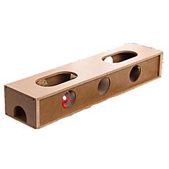 tanie Zabawki dla kota-Kot Zabawka dla kota Zabawki dla zwierząt Interaktywne Trwały Drewniany Dla zwierząt domowych