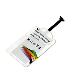 mindzo estilo de um padrão qi 5V1A receptor carregador sem fio para todos android micro usb estilo de um smartphone