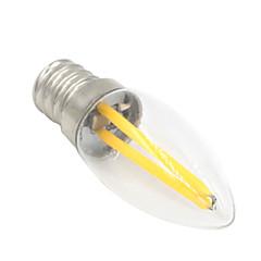 お買い得  LED 電球-1.5W 80-100 lm E12 LEDボール型電球 T 2 LEDの COB 装飾用 温白色 AC 220-240V