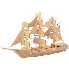 preiswerte -Holzpuzzle Spielzeuge Kämpfer Schiff Profi Level Holz Jungen Mädchen 1 Stücke
