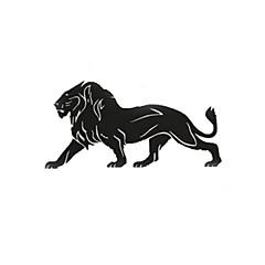 お買い得  カーデコレーション-ブラック 車ステッカー カトゥーン フロントガラスステッカー 動物 反射ステッカー