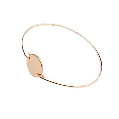 preiswerte Armbänder-Damen Manschetten-Armbänder individualisiert Simple Style Kupfer Schmuck Schmuck Für Alltag Normal
