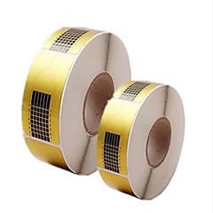 abordables Expositores y Decoraciones-500pcs herramientas de manicura soporte de papel en papel cuadrado de extensión acrílicos papel de la fototerapia se extiende un paquete