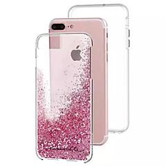 Назначение iPhone 8 iPhone 8 Plus iPhone 7 iPhone 7 Plus iPhone 6 Чехлы панели Движущаяся жидкость Задняя крышка Кейс для Сияние и блеск