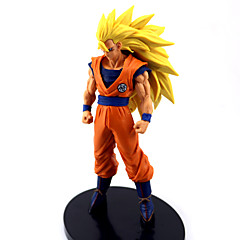 Χαμηλού Κόστους -Anime Φιγούρες Εμπνευσμένη από Dragon Ball Goku Anime Αξεσουάρ για Στολές Ηρώων εικόνα Πορτοκαλί PVC