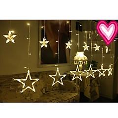 お買い得  LED ストリングライト-3メートル12スターライトクリスマスハロウィーンの装飾的なライトつ星とお祝いのストリップライト(220V)