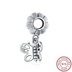 de europæiske og amerikanske populære mode smykker 925 sterling sølv vedhæng hængende armbånd - sommerfugl form tilbehør