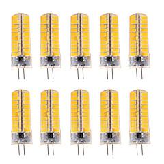 お買い得  LED 電球-7W G4 LEDコーン型電球 T 80 SMD 5730 500-700 lm 温白色 / クールホワイト 明るさ調整 / 装飾用 V 10個