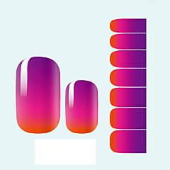 Autocolantes de Unhas 3D - Abstracto/Adorável/Casamento - para Dedo 1 - 10*7*0.1