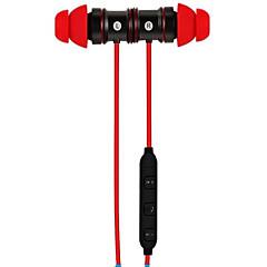 お買い得  ヘッドセット、ヘッドホン-BTH-828 耳の中 / ネックバンド ワイヤレス ヘッドホン プラスチック 運転 イヤホン ボリュームコントロール付き / マイク付き ヘッドセット