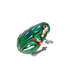 Wind-up Toy Toys Novelty Frog Iron Metal 1 Pieces Kids Boys' Girls' Birthday Children's Day Gift