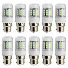 お買い得  LED電球-4W B22 LEDコーン型電球 T 27 SMD 5730 280 lm 温白色 クールホワイト 装飾用 AC 85-265 V 10個