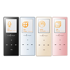 MP3/MP4Player8GB Jack 3.5 mm Cartão Micro SD Tátil