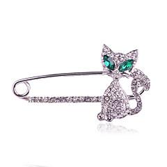 Női Melltűk Divat luxus ékszer jelmez ékszerek Hamis gyémánt Ékszerek Kompatibilitás Napi Hétköznapi