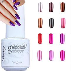 abordables Geles UV-Gel UV para esmalte de uñas 5ML 1 Empapa Esmalte Gel UV de Color Empapa de Larga Duración