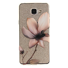 voordelige Galaxy A5 Hoesjes / covers-hoesje Voor Samsung Galaxy A5(2016) A3(2016) IMD Transparant Patroon Achterkant Bloem Zacht TPU voor A5(2016) A3(2016) A5 A3