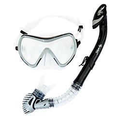 Sukellus Maskit Sukellus Paketit Snorkkelit Uimalasit Snorkkelisetti Kuiva snorkkeli Sukellus ja snorklaus Uinti PVC Lasi Silikoni varten
