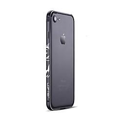 Kompatibilitás iPhone 7 tok iPhone 7 Plus tok tokok Jeges Védőkeret Case Punk Kemény Alumínium mert Apple iPhone 7 Plus iPhone 7