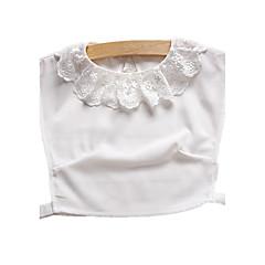 お買い得  ネックレス-女性用 カラー  -  レース ベーシック ホワイト ネックレス ジュエリー 用途 日常, カジュアル